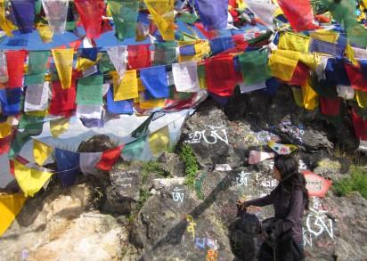 Mussoorie prayer flags